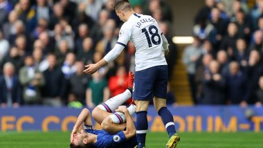Giovani Lo Celso Escapes Red Card After 'Stamping' Cesar Azpilicueta During Chelsea vs Tottenham Clash, Twitterati Lash Out at VAR's 'Poor Decision Making'