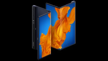 Huawei Mate Xs 5G Foldable Smartphone With Kirin 990 Chipset Launched in Spain At EUR 2,499