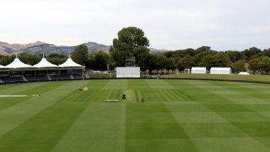 India vs New Zealand, Christchurch Weather, Pitch Report and Rain Forecast: Here's How the Weather Will Behave for IND vs NZ 2nd Test at Hagley Oval