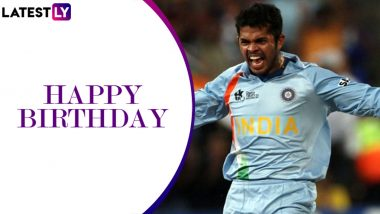 S Sreesanth Birthday Special: A Look at Some Noted Bowling Performances by World Cup-Winning Pacer