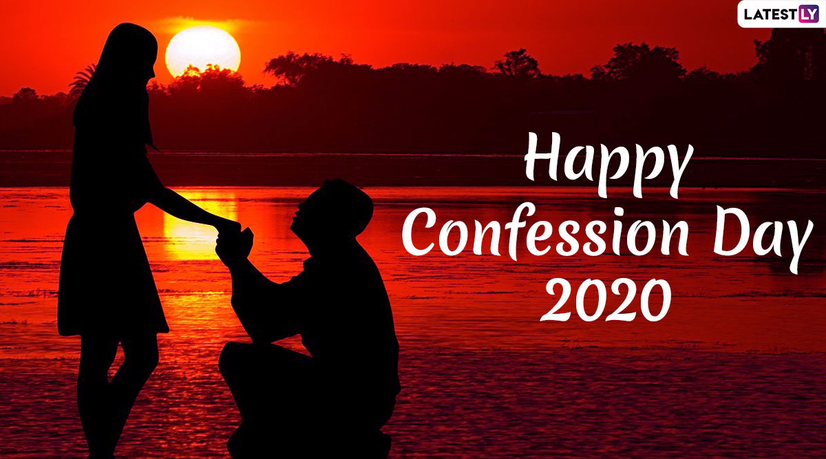 Confession Day 2020 Wishes: WhatsApp Messages, HD Wallpapers And Images to Convey Your Feelings And Tell The Truth This Anti-Valentine's Week