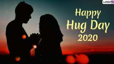 Happy Hug Day 2020 Images & HD Wallpapers For Free Download Online: Wish on Hug Day With WhatsApp Stickers and GIF Greetings