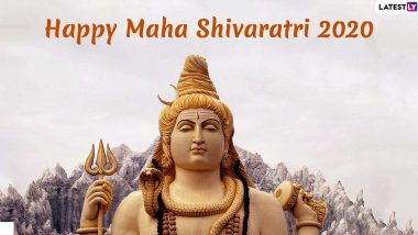 Happy Maha Shivratri 2020 Greetings: Mahashivratri Wishes, WhatsApp Messages, HD Images, Facebook Status, SMS to Share on The Day of Bhagwan Shiv Shankar