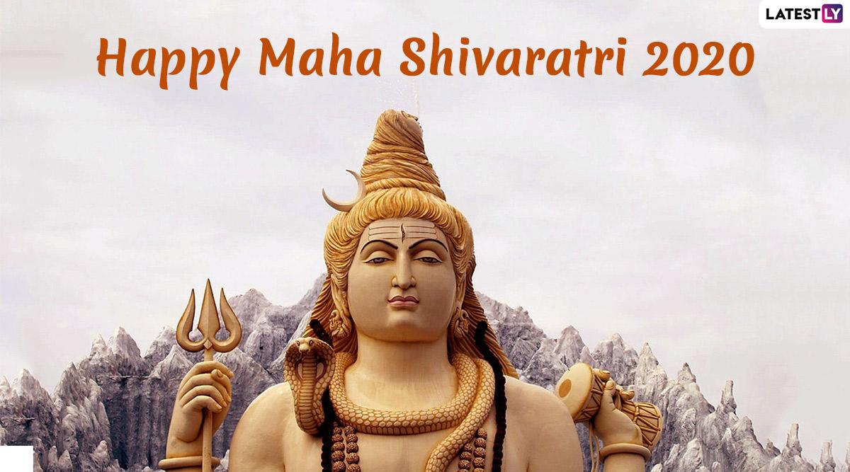 Happy Maha Shivratri 2020 Greetings: Mahashivratri Wishes, WhatsApp Messages, HD Images, Facebook Status, SMS to Share on The Day of Bhagwan Shiv Shankar