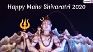 Happy Mahashivratri 2020 Wishes in Hindi and English: WhatsApp Stickers, GIFs, Facebook Status and Hike Messages to Celebrate Lord Shiva