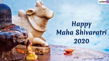 Happy Maha Shivratri 2020 Messages and Wishes: WhatsApp Quotes, Lord Mahadev GIF Images, Shivratri Greetings to Send on 'Great Night of Shiva'