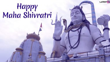 Happy Maha Shivratri 2020 Wishes in English: Messages, WhatsApp Stickers, SMS, HD Images And Quotes to Share on The Auspicious Day of Lord Shiva