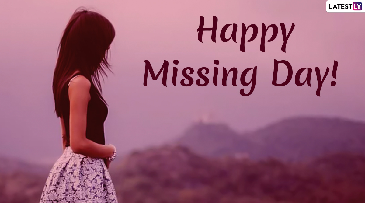 Missing Day 2020 Wishes And Messages: WhatsApp Stickers, SMS, Quotes And GIF Images to Share With The Ones You Miss on This Day of Anti-Valentine's Week