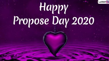 Propose Day 2020 Images & HD Wallpapers For Free Download Online: Wish on Second Day of Valentine Week With WhatsApp Stickers and Greetings