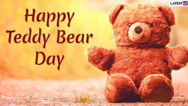 Teddy Day 2020 Wishes in Hindi With Romantic Shayari: WhatsApp Stickers, Facebook Greetings, GIF Images, SMS And Quotes to Send in Valentine Week