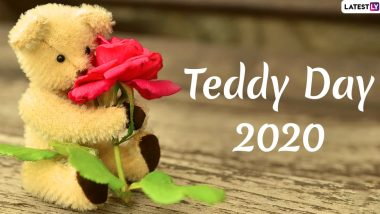 Happy Teddy Day 2020 Greetings: WhatsApp Stickers, Hike Messages, Teddy GIF Images, Romantic Quotes and SMS For Your Partner