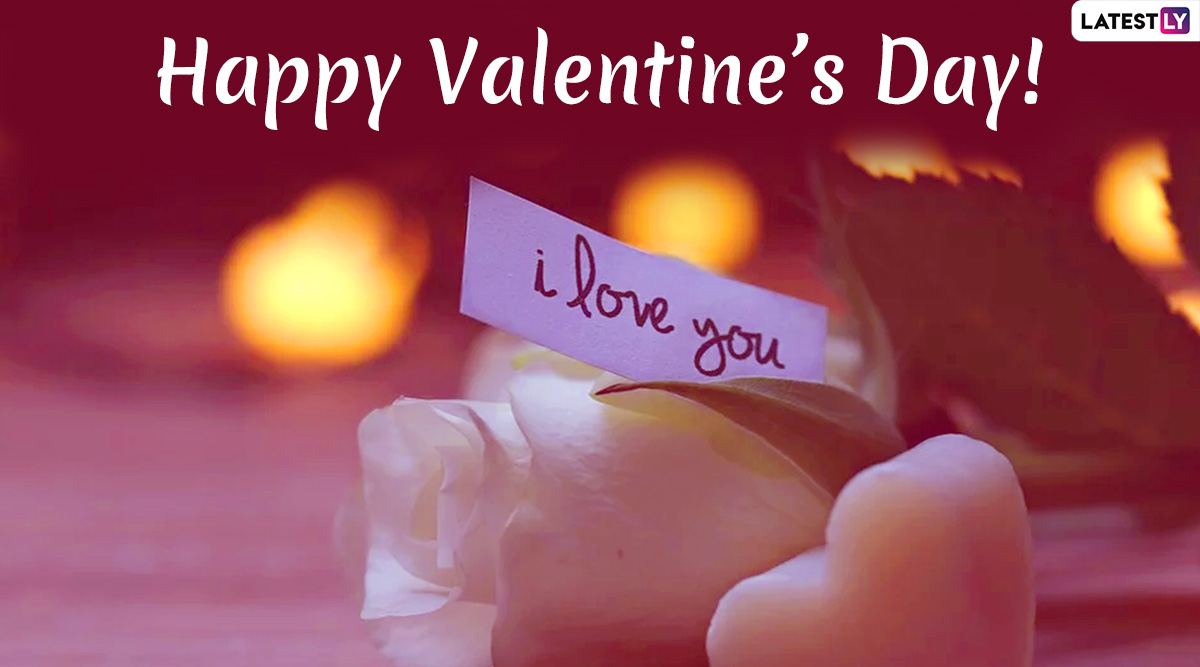 Happy Valentine's Day Romantic Messages for Husband: WhatsApp Stickers, GIF Images, Love Quotes, Instagram Stories, SMS and Wishes to Send Him