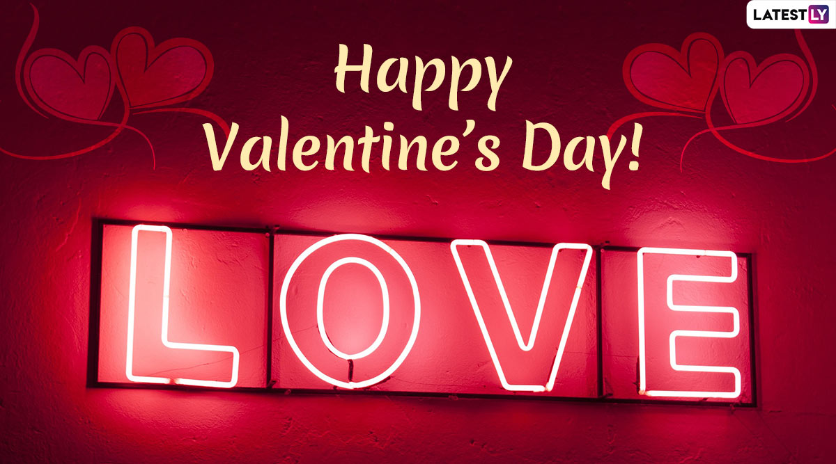 Valentine's Day Cute and Romantic Messages for Wife: WhatsApp Stickers, GIF Images, Love Quotes and SMS to Share With Your Lady Love