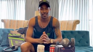 Coffee Proved Too Costly for Me, I Drink Green Tea, Says Hardik Pandya in Instagram Live Chat with Dinesh Karthik