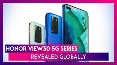 Honor View30 & Honor View30 Pro Officially Announced; Check Prices, Variants, Features & Specifications