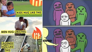 Happy Hug Day 2020 Memes: These Potty Jokes Will Comfort You From Too Much of PDA and Romance This Valentine Week!