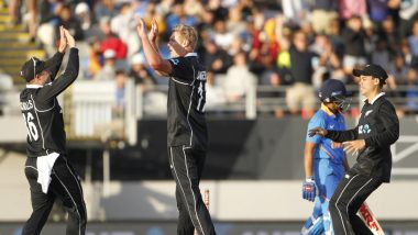 India vs New Zealand 2nd ODI 2020 Stat Highlights: Kiwis Register First Series Win Against IND Since 2014 As Visitors Lose by 22 Runs