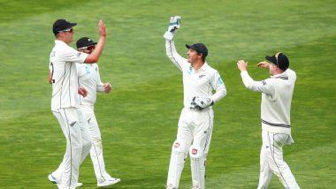 India vs New Zealand Stat Highlights 1st Test 2020 Day 1: Debutant Kyle Jamieson Tatters Indian Battling Lineup, Ajinkya Rahane Offers Resistance