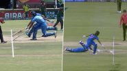 India Repeats U19 World Cup Blunder During IND vs BAN Women's T20I CWC As Deepti Sharma and Veda Krishnamurthy Gets Involved in Terrible Run-Out