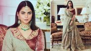 Isha Ambani, the Resplendent Muse in Vintage Sabyasachi! (View Pics)