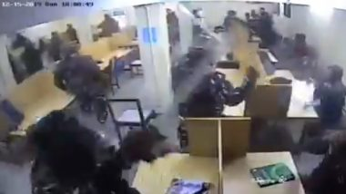 Students or Protesters? Video of Delhi Police Assault Inside Jamia Millia Islamia Library Goes Viral With Different Claims