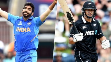 Jasprit Bumrah vs Ross Taylor and Other Exciting Mini Battles to Watch Out for During India vs New Zealand 2nd ODI 2020 in Auckland