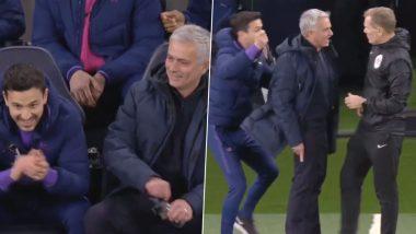 Watch Jose Mourinho's Hilarious Reaction As Raheem Sterling Avoids Red Card During Tottenham Hotspur vs Manchester City Clash in Premier League 2019-20