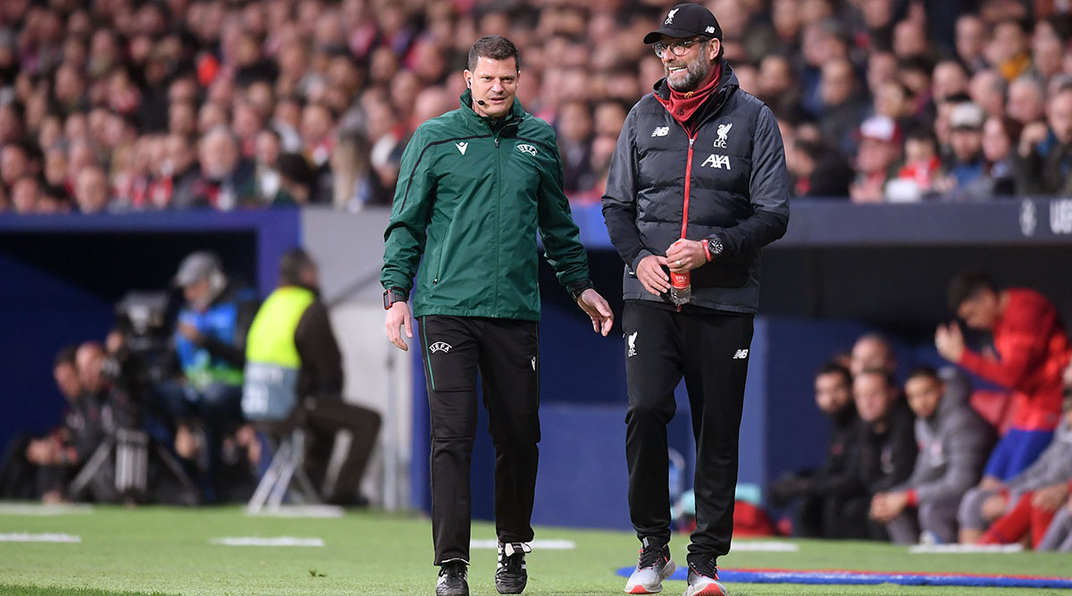 Jurgen Klopp Gets Booked As Atletico Madrid Frustrate Liverpool in Champions League Encounter