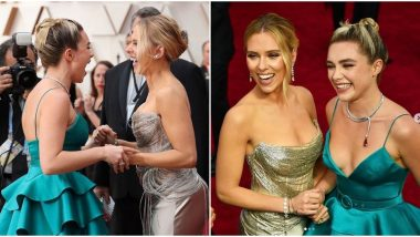 Oscars 2020: Scarlett Johansson and Florence Pugh had their Black Widow Reunion on the Academy Awards Red Carpet (View Pics)