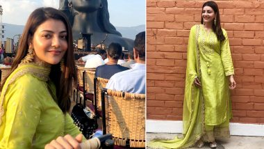 Kajal Aggarwal Is Elegance Personified in a Gopi Vaid Ethnic Ensemble!