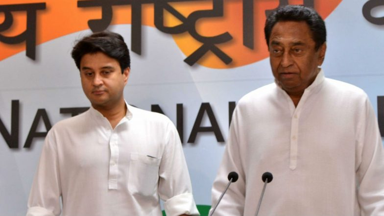 Congress Infighting in Madhya Pradesh: Not Upset With Jyotiraditya Scindia, Says Kamal Nath After Party Asks Them to Iron Out Differences