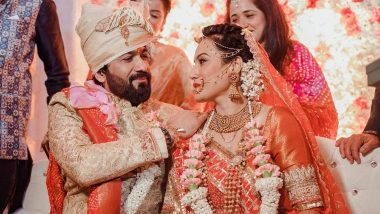 Kamya Panjabi and husband Shalabh Dang Look Dreamy In their Wedding Pictures, Check It Out!