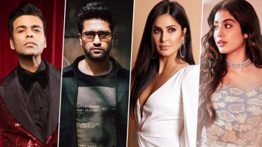 Bhoot Part One: The Haunted Ship – Karan Johar, Katrina Kaif, Janhvi Kapoor and Others Attend the Special Screening of Vicky Kaushal's Film (View Pics Inside)