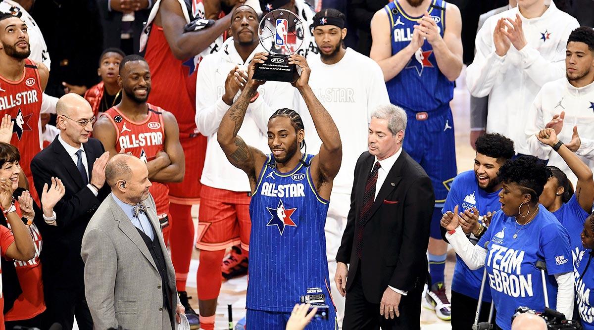 2020 NBA All-Star Game: Kawhi Leonard Wins First-Ever MVP Trophy Named After LA Lakers Legend Kobe Bryant