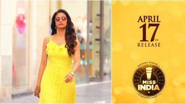 Miss India: Keerthy Suresh Starrer Gets a Release Date, All Set to Hit the Screens on April 17