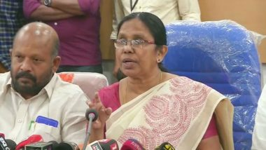 Kerala to Launch Psychosocial Project for Counselling Students, KK Shailaja Says Counselling to Be Done on Helpline Number 1056