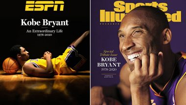 Sports Illustrated and ESPN Set to Honour Kobe Bryant With Special Tribute Issue