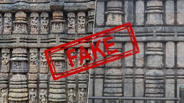 Fact Check: Konark Sun Temple's Exotic Carvings Replaced? ASI Responds to Twitter Users Claim of Historic Sculptures Restored With Plain Stones