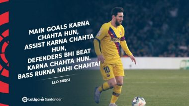 La Liga Celebrates Lionel Messi's Hat-Trick of Assists Against Real Betis With Dialogue From Bollywood Movie 'Yeh Jawaani Hai Deewani'