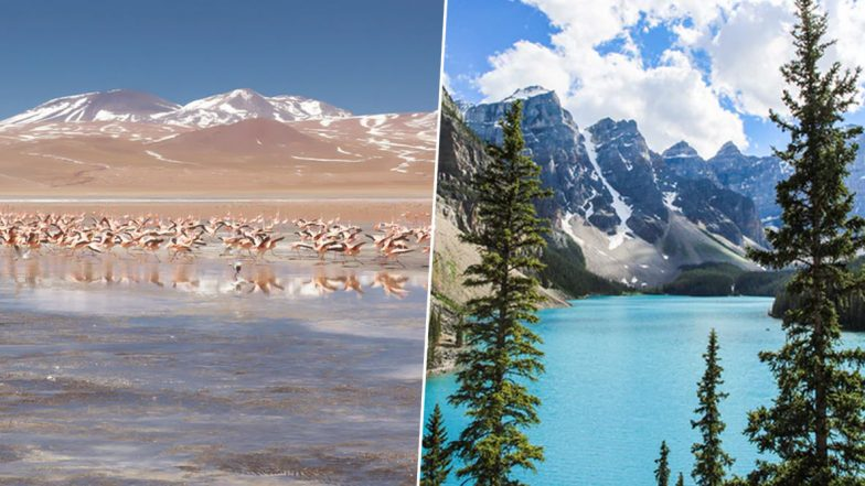 Laguna Colorada to Moraine Lake; 5 Mesmerising Lakes From Around the World (Watch Videos)