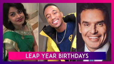 Leap Year Birthdays: Janvi Chheda, Jessie Usher and Other Celebs Who Are 'Leaplings!'