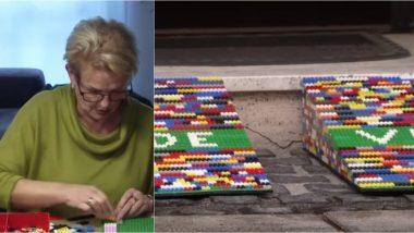 Meet 'Lego Grandma' Who Builds Wheelchair Ramps From Lego Bricks! (Watch Video)