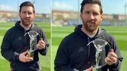 Lionel Messi Reacts After Winning Laureus Sportsman of the Year Award, Thanks His Teammates and Family (See Post)