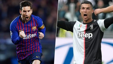 Lionel Messi Hopes That Cristiano Ronaldo Recovers From COVID-19 For Juventus vs Barcelona, Speaks Warmly About Their Rivalry