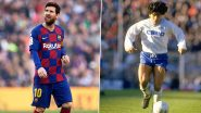 Lionel Messi Set to Play in 'City of Diego Maradona' As Barcelona Face Napoli in Champions League, Italian Club Shares Classy Video