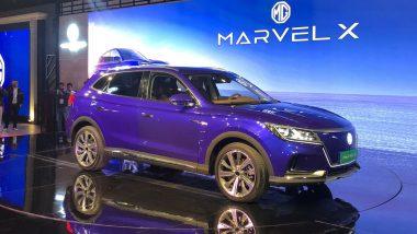 Auto Expo 2020: MG Marvel X, eMG6, RC6 Sedan, 360M & MG3 Hatchback Showcased