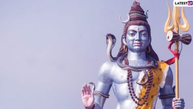 Lord Shiva Photos and HD Wallpapers Free Download For Mahashivratri 2020: WhatsApp Stickers, Shankar Bhagwan GIF Images, Mahadev Pictures And Messages to Send Wishes on The Auspicious Festival