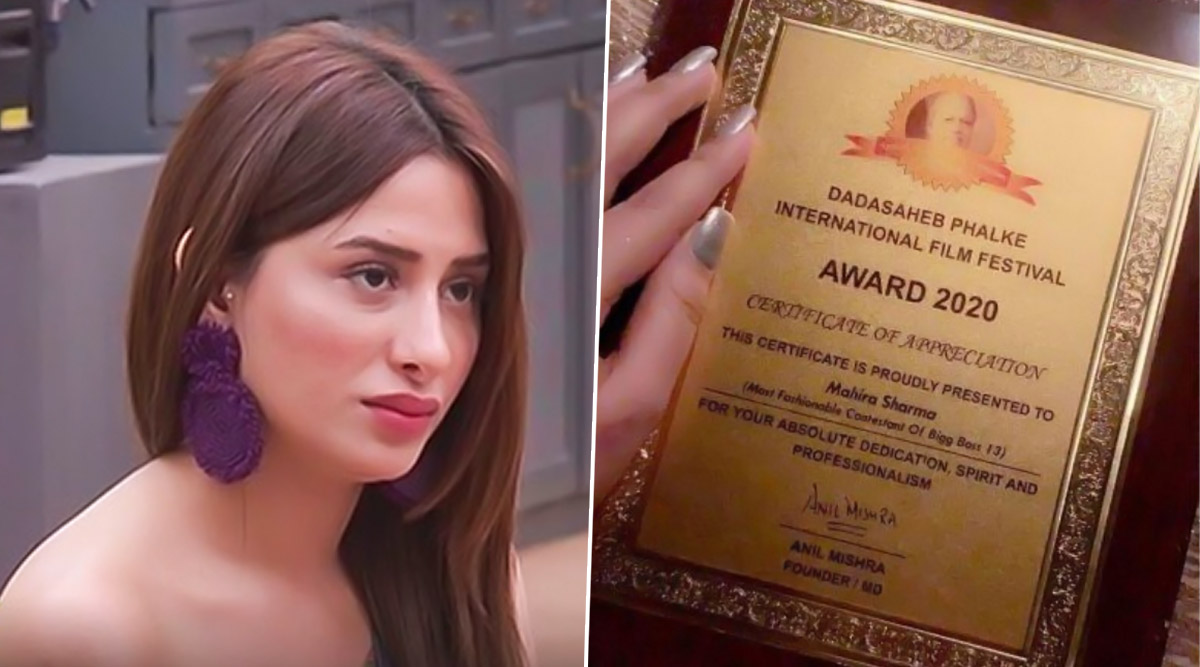 Mahira Sharma Clears the Air on Being Accused of Faking Dadasaheb Phalke International Award, Says 'Is Untrue and Totally Uncalled For'