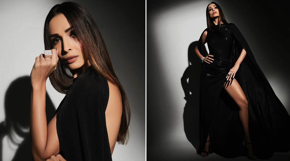 Bewitching in Black! Malaika Arora Goes OTT on Dark and We Are Stunned (View Pics)