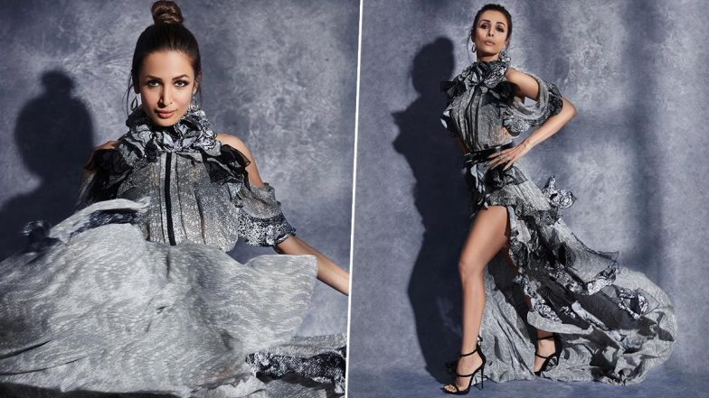 Malaika Arora Is Alluring AF in a Snake Inspired Occuring Gown!